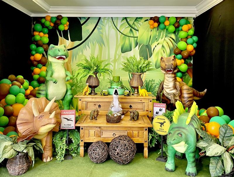 decoração dinossauros curitiba