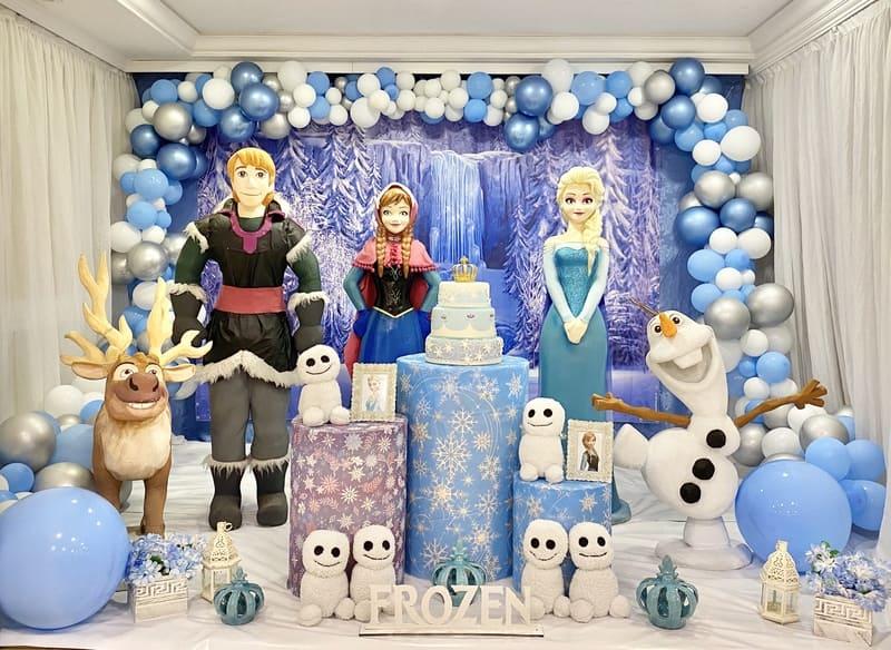 decoração frozen curitiba