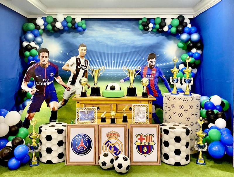 decoração futebol curitiba
