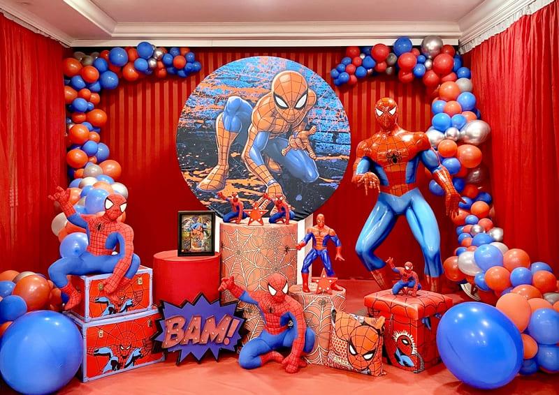 decoração homem aranha curitiba