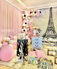 pink Paris decoração pink paris festa