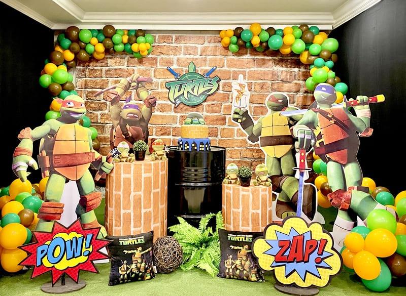 decoração tartarugas ninja curitiba