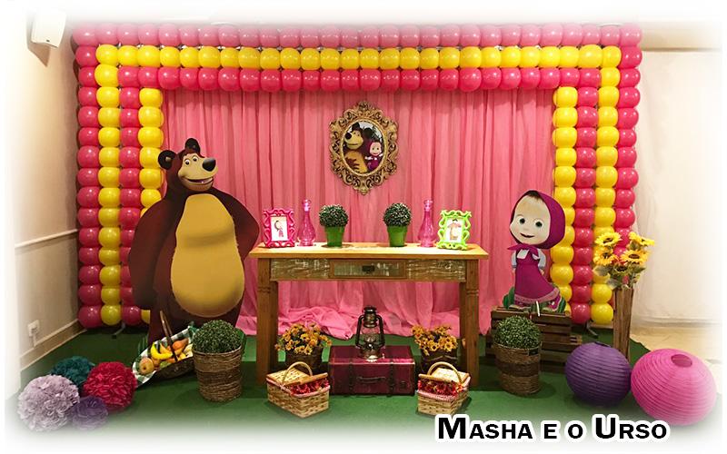 For Fun Festas Temas Infantis Masha E O Urso