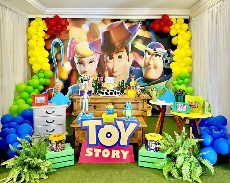 decoração toy story curitiba