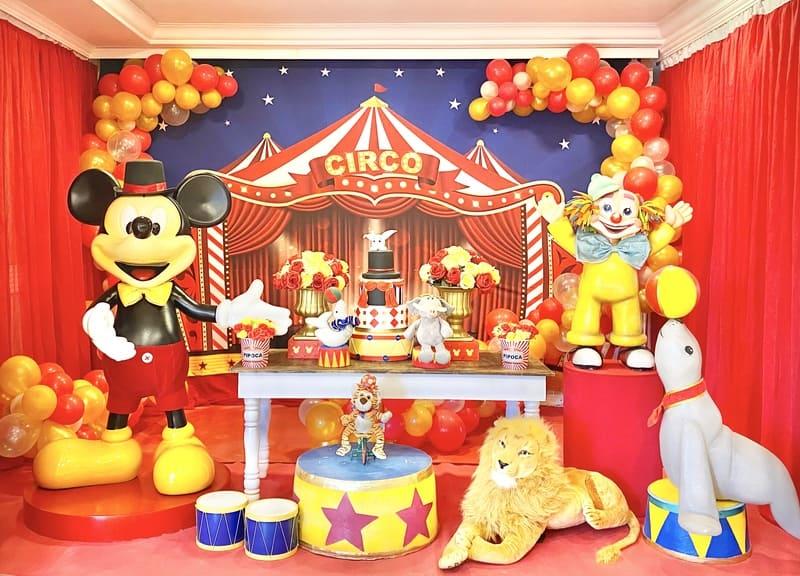 decoração circo do mickey curitiba