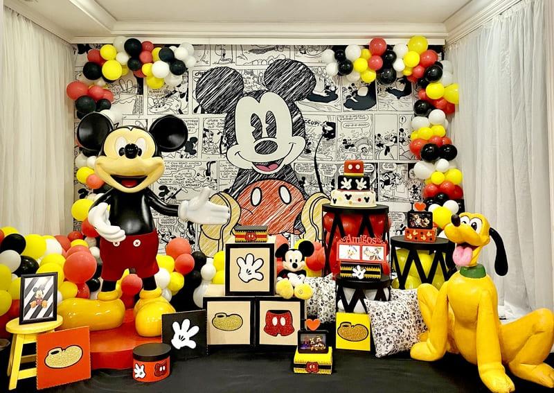 decoração mickey curitiba