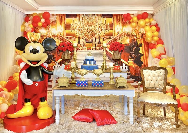 decoração mickey realeza curitiba