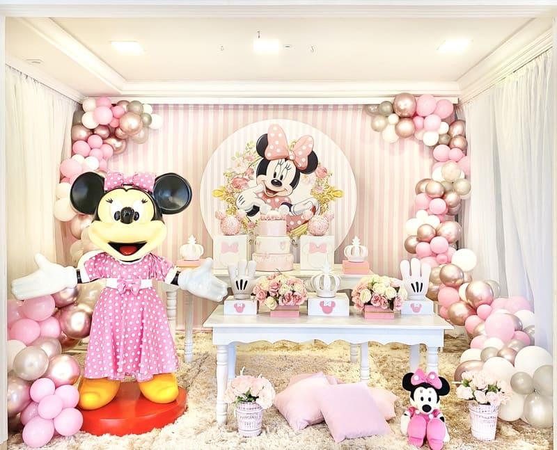 decoração minnie rosa curitiba