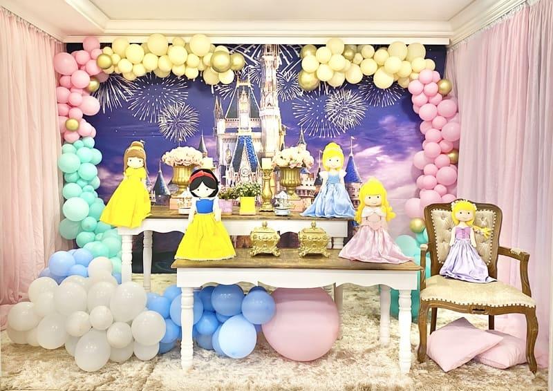 decoração princesas baby curitiba