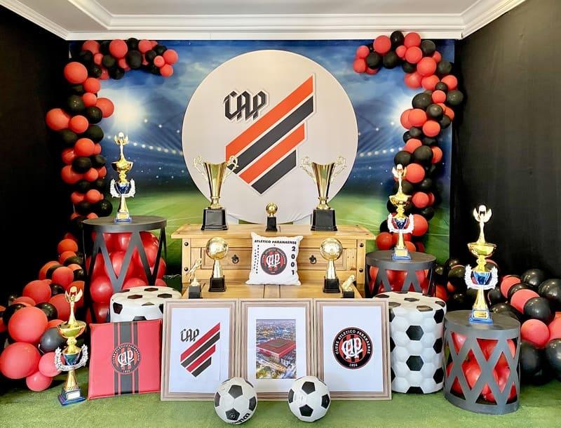 decoração Athletico Paranaense