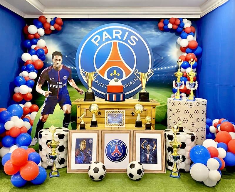 decoração PSG